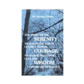 UK90 Serenity Prayer Picture Card*